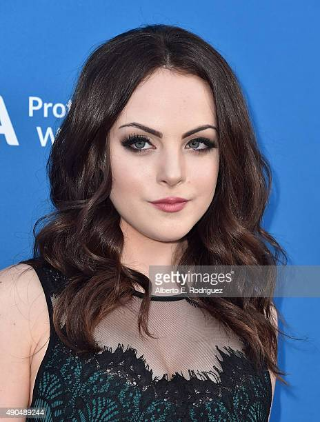 Actress Liz Gillies attends the 'Concert For Our Oceans' hosted by Seth MacFarlane benefitting Oceana at The Wallis Annenberg Center for the...