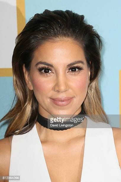 Actress Liz Hernandez arrives at the Essence 9th Annual Black Women event in Hollywood at the Beverly Wilshire Four Seasons Hotel on February 25 2016...