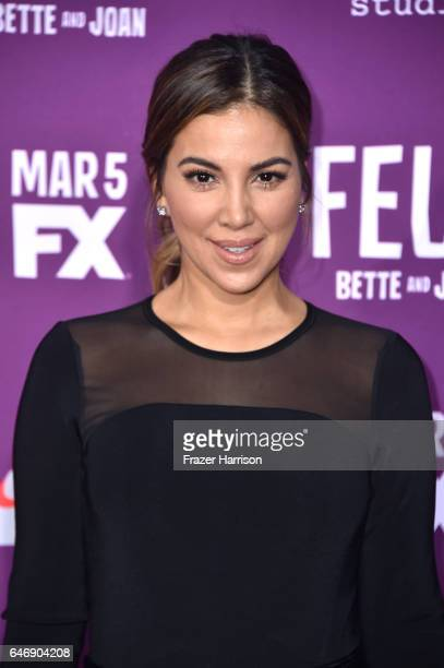 Actress Liz Hernandez attends FX Network's 'Feud Bette and Joan' premiere at Grauman's Chinese Theatre on March 1 2017 in Hollywood California