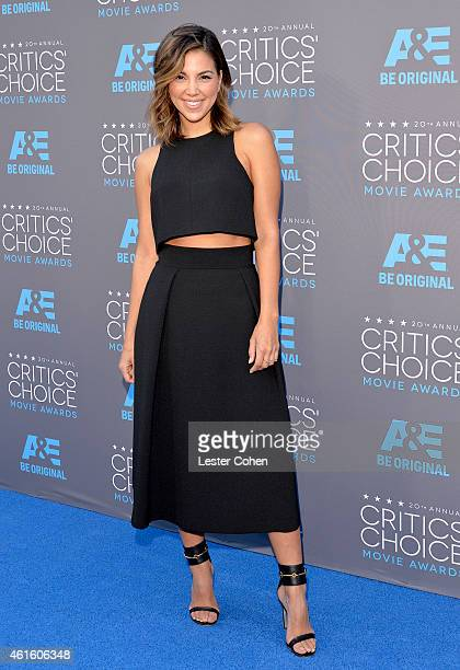Actress Liz Hernandez attends the 20th annual Critics' Choice Movie Awards at the Hollywood Palladium on January 15 2015 in Los Angeles California