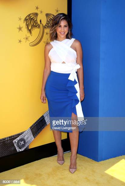 Actress Liz Hernandez attends the premiere of Universal Pictures and Illumination Entertainment's 'Despicable Me 3' at The Shrine Auditorium on June...