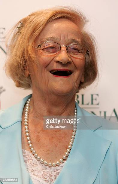 Actress Liz Smith attends The Oldie Magazine's 'Oldie Of The Year Awards 2007' at Simpson'sintheStrand on March 13 2007 in London England
