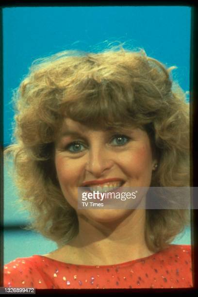 Actress Liza Goddard during an appearance on game show Punchlines, circa 1983.