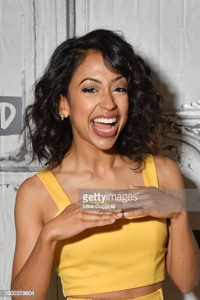Actress Liza Koshy visits Build Studio on July 16 2018 in New York City