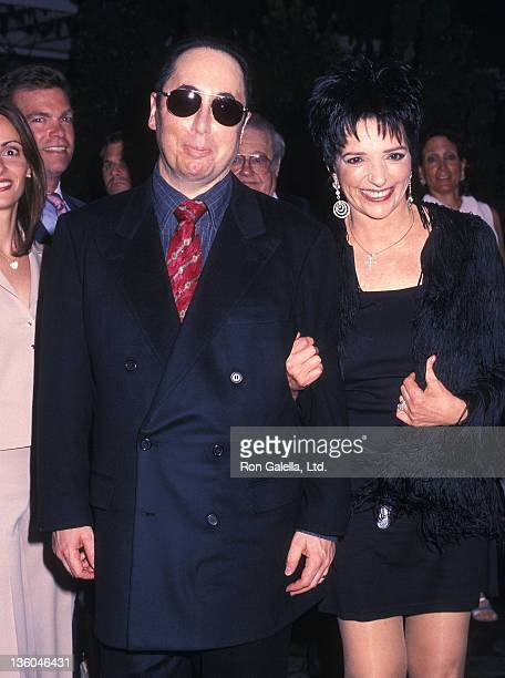 Actress Liza Minnelli and husband David Gest attend the After Party for Liza Minnelli's Opening Night Concert Show 'Liza's Back' on May 31 2002 at...