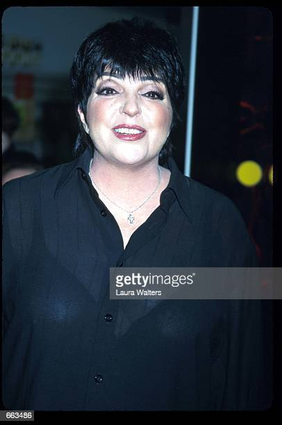 Actress Liza Minnelli stands during a promotional tour for her album Minnelli on Minnelli March 20 2000 in New York City Minnelli is the Academy and...