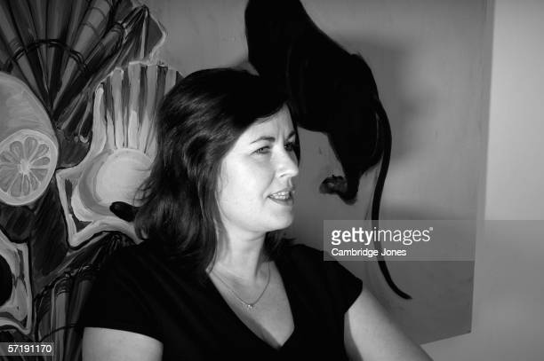 Actress Liza Tarbuck poses during a photo call held on December 1, 2004 at her home in London, England.