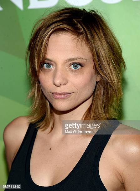 Actress Lizzie Brochere attends the NBCUniversal press day 2 during the 2016 Summer TCA Tour at The Beverly Hilton Hotel on August 3 2016 in Beverly...