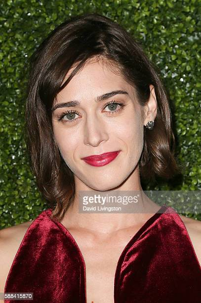 Actress Lizzy Caplan arrives at the CBS CW Showtime Summer TCA Party at the Pacific Design Center on August 10 2016 in West Hollywood California