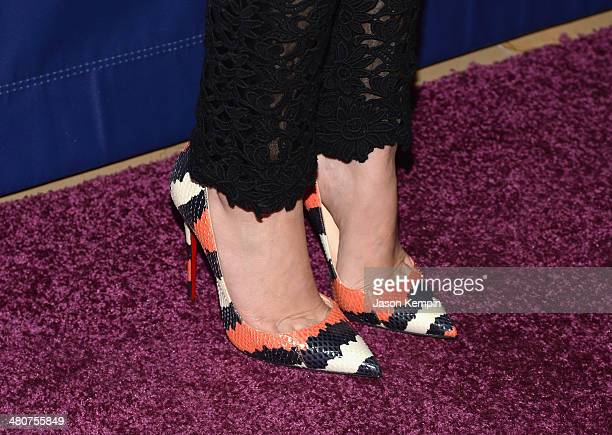Actress Lizzy Caplan attends 22nd A Night At Sardi's at The Beverly Hilton Hotel on March 26 2014 in Beverly Hills California