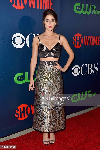 Actress Lizzy Caplan attends CBS' 2015 Summer TCA party at the Pacific Design Center on August 10 2015 in West Hollywood California