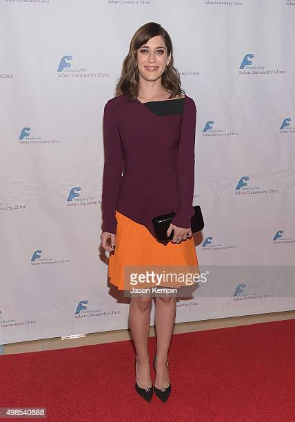 Actress Lizzy Caplan attends Saban Community Clinic's 39th Annual Dinner Gala at The Beverly Hilton Hotel on November 23 2015 in Beverly Hills...