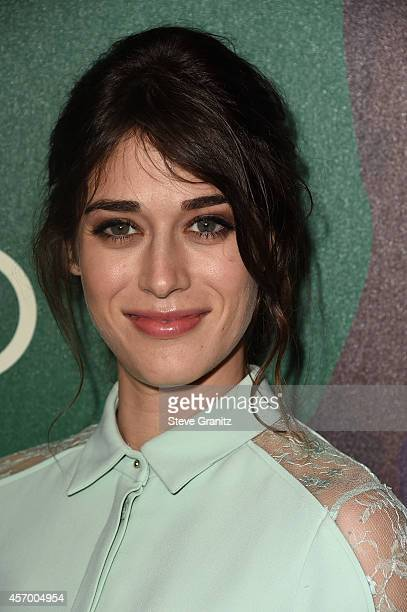Actress Lizzy Caplan attends the 2014 Variety Power of Women presented by Lifetime at Beverly Wilshire Four Seasons on October 10 2014 in Los Angeles...
