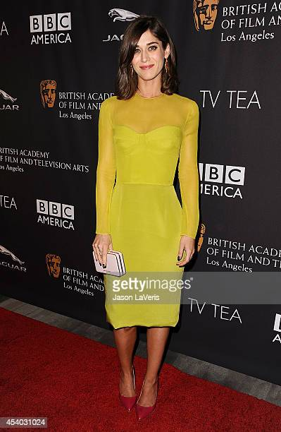 Actress Lizzy Caplan attends the BAFTA Los Angeles TV Tea Party at SLS Hotel on August 23 2014 in Beverly Hills California