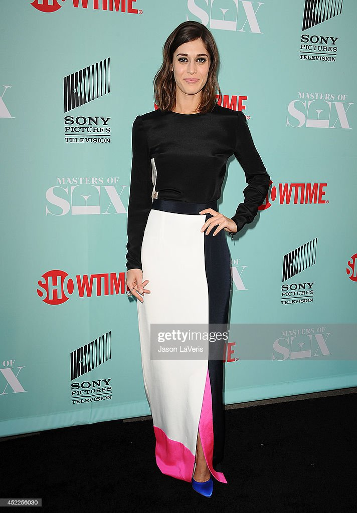 Actress Lizzy Caplan attends the 'Master of Sex' TCA event at Sony Pictures Studios on July 16, 2014 in Culver City, California.