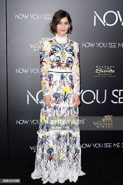 Actress Lizzy Caplan attends the Now You See Me 2 world premiere at AMC Loews Lincoln Square 13 theater on June 6 2016 in New York City