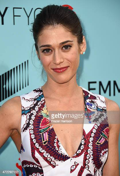 "Actress Lizzy Caplan attends the Screening Of Showtime And Sony Pictures Television's ""Masters Of Sex"" at Cary Grant Theater on May 5, 2015 in Culver..."
