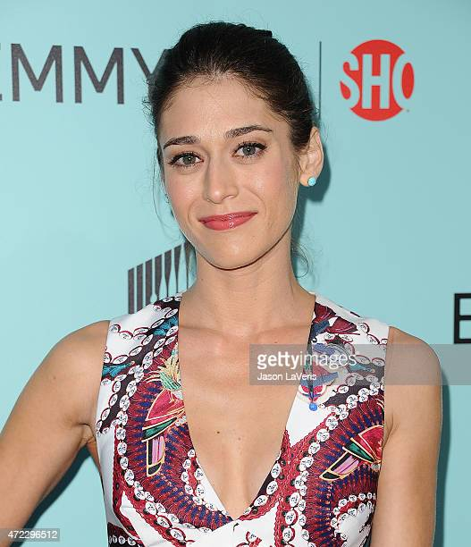 "Actress Lizzy Caplan attends the Showtime and Sony Pictures Television's ""Masters Of Sex"" screening at Cary Grant Theater on May 5, 2015 in Culver..."