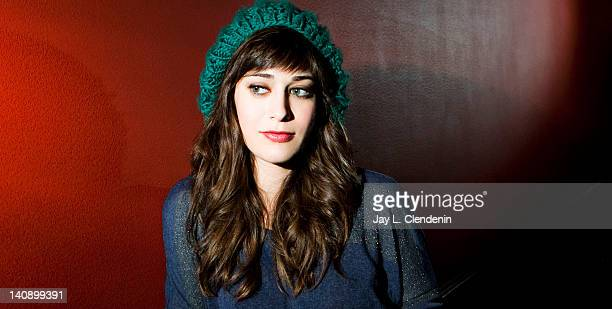 Actress Lizzy Caplan is photographed for Los Angeles Times on January 23 2012 in Park City Utah PUBLISHED IMAGE CREDIT MUST READ Jay L Clendenin/Los...