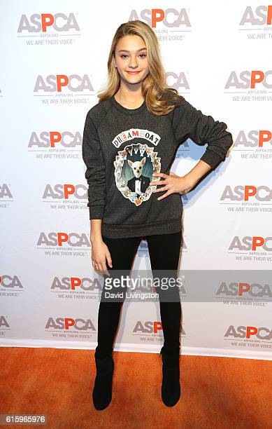 Actress Lizzy Greene arrives at the ASPCA Benefit at Private Residence on October 20 2016 in Los Angeles California