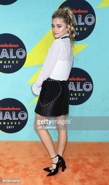 Actress Lizzy Greene attends the Nickelodeon Halo Awards 2017 at Pier 36 on November 4 2017 in New York City
