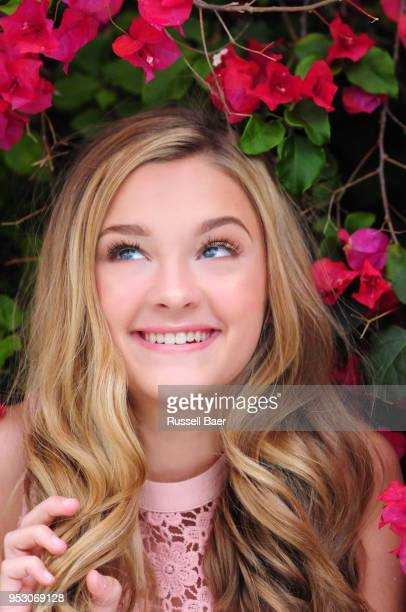 Actress Lizzy Greene poses for a portrait on May 7 2016 in Santa Monica California