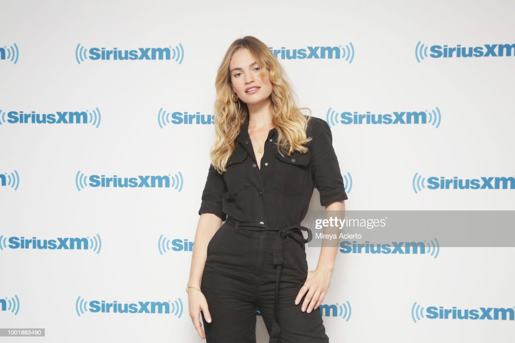 Celebrities Visit SiriusXM - July 19, 2018