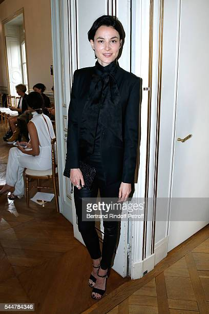 Actress Loan Chabanol attends the Presentation of Maison Boucheron New Haute Joaillerie Collection as part of Paris Fashion Week on July 4 2016 in...