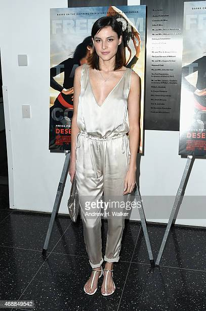 Actress Loan Chabanol attends the special screening of Relativity Studio's Desert Dancer at Museum of Modern Art on April 7 2015 in New York City