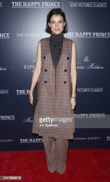 Actress Loan Chabanol attends the special screening of Sony Pictures Classics' The Happy Prince hosted by The Cinema Society and Brooks Brothers at...