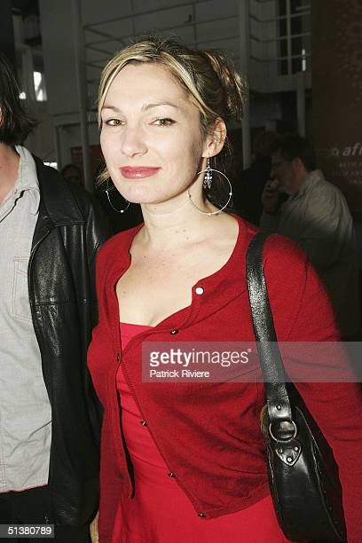 Actress Loene Carmen attends the 2004 AFI Awards Nominations at the Wharf Restaurant October 1 2004 in Sydney Australia