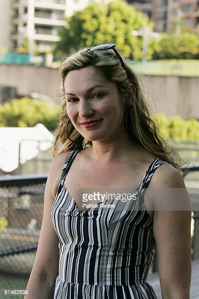 Actress Loene Carmen attends the Lexus IF Awards Nomination Launch at Doltone House October 11 2004 in Sydney Australia