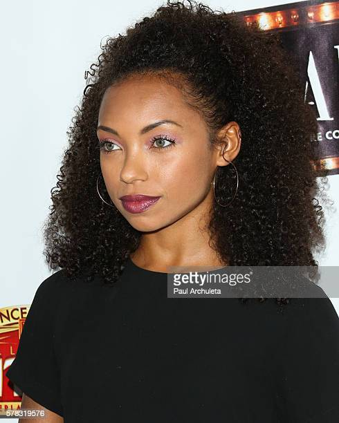 Actress Logan Browning attends the opening night of Cabaret at The Hollywood Pantages at the Pantages Theatre on July 20 2016 in Hollywood California