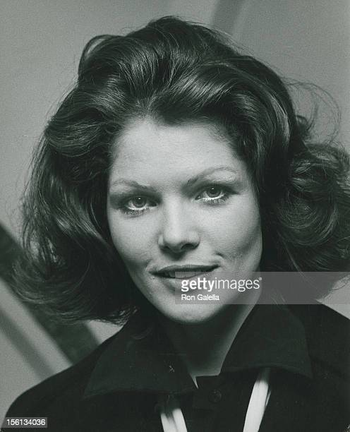 Actress Lois Chiles attends the party for 'The Understudy by Elia Kazan' on December 9 1974 at the Lyceum Theater in New York City New York
