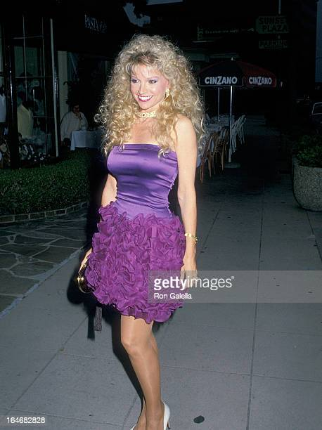 Actress Lois Hamilton attends the Butler Wilson Grand Opening Celebratioin on June 15 1988 at Butler Wilson 8644 Sunset Blvd in West Hollywood...