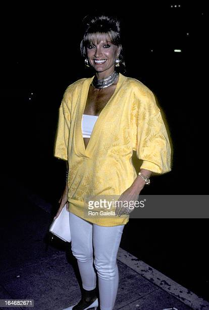 Actress Lois Hamilton attends the Thrashin' Beverly Hills Premiere on August 21 1986 at the Samuel Goldwyn Theatre in Beverly Hills California