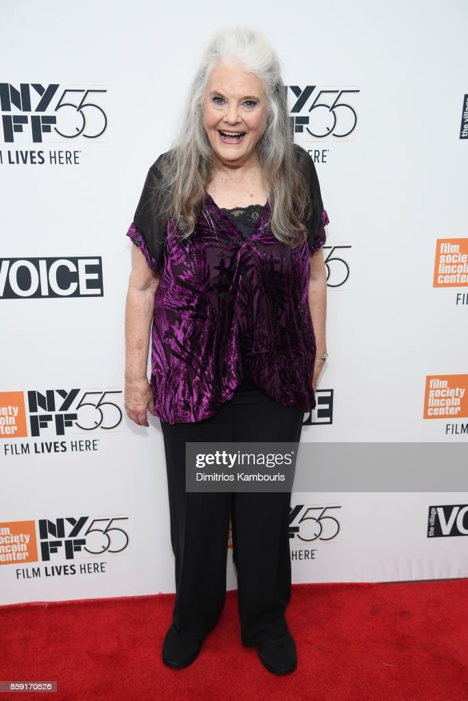 Actress Lois Smith attends 55th New York Film Festival screening of 'Lady Bird' at Alice Tully Hall on October 8, 2017 in New York City.