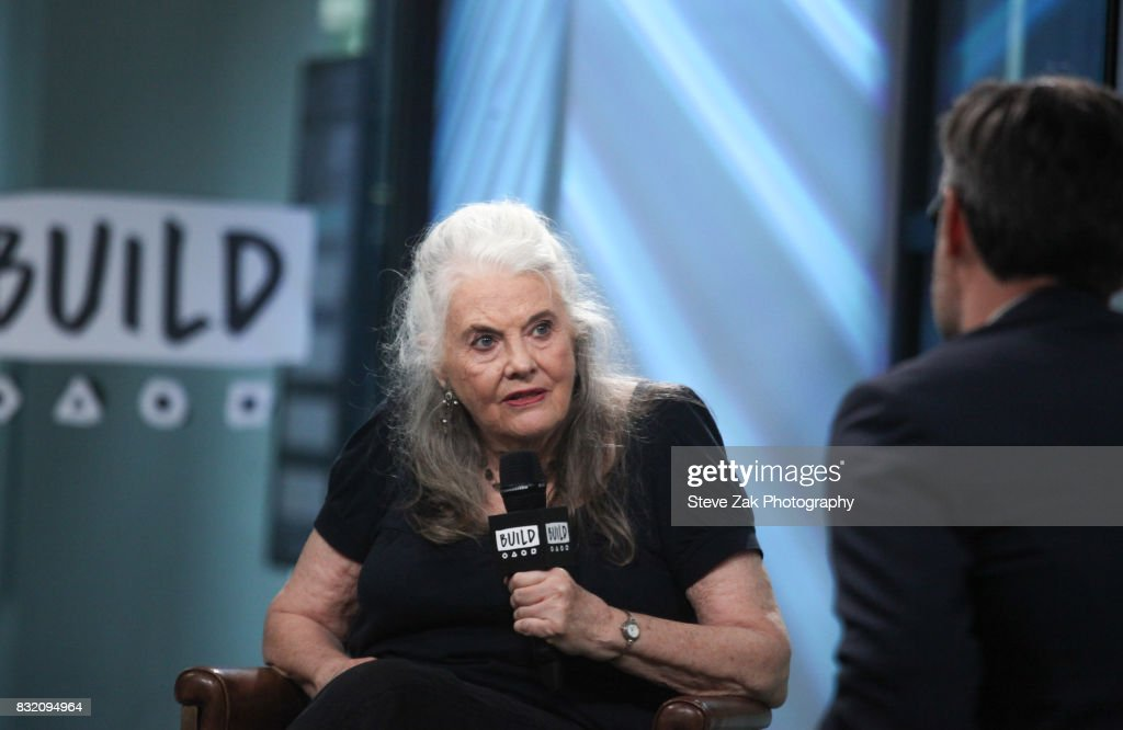 Actress Lois Smith attends Build Series to discuss her play 'Marjorie Prime' at Build Studio on August 15, 2017 in New York City.