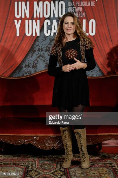 Actress Lola Baldrich attends the ''Muchos Hijos Un Mono Y Un Castillo' premiere at Callao cinema on December 13 2017 in Madrid Spain