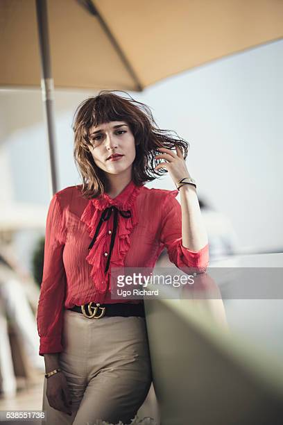 Actress Lola Bessis is photographed for Self Assignment on May 15 2016 in Cannes France