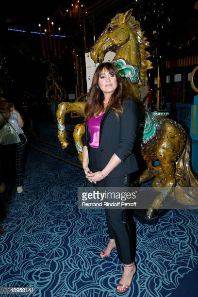 "Actress Lola Dewaere attends the ""31eme Nuit des Molieres"" at ""Les Folies Bergeres"" on May 13, 2019 in Paris, France."