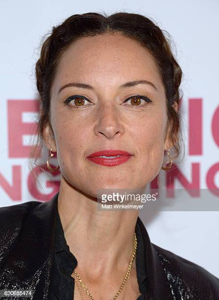 """Actress Lola Glaudini attends the opening night of """"Hedwig And The Angry Inch"""" at the Pantages Theatre on November 2, 2016 in Hollywood, California."""