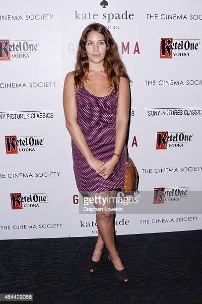 Actress Lola Kirke attends a screening of Sony Pictures Classics' 'Grandma' hosted by The Cinema Society and Kate Spade at Landmark Sunshine Cinema...