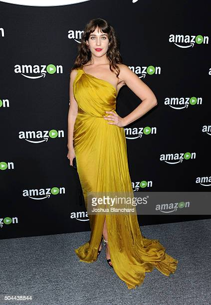 Actress Lola Kirke attends Amazon Studios Golden Globe Awards Party at The Beverly Hilton Hotel on January 10 2016 in Beverly Hills California