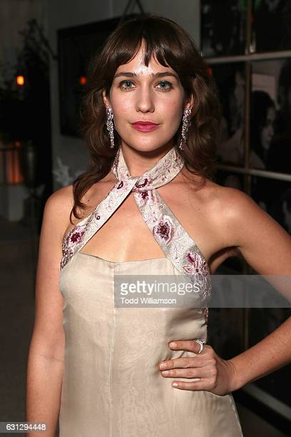 Actress Lola Kirke attends Amazon Studios Golden Globes Celebration at The Beverly Hilton Hotel on January 8 2017 in Beverly Hills California