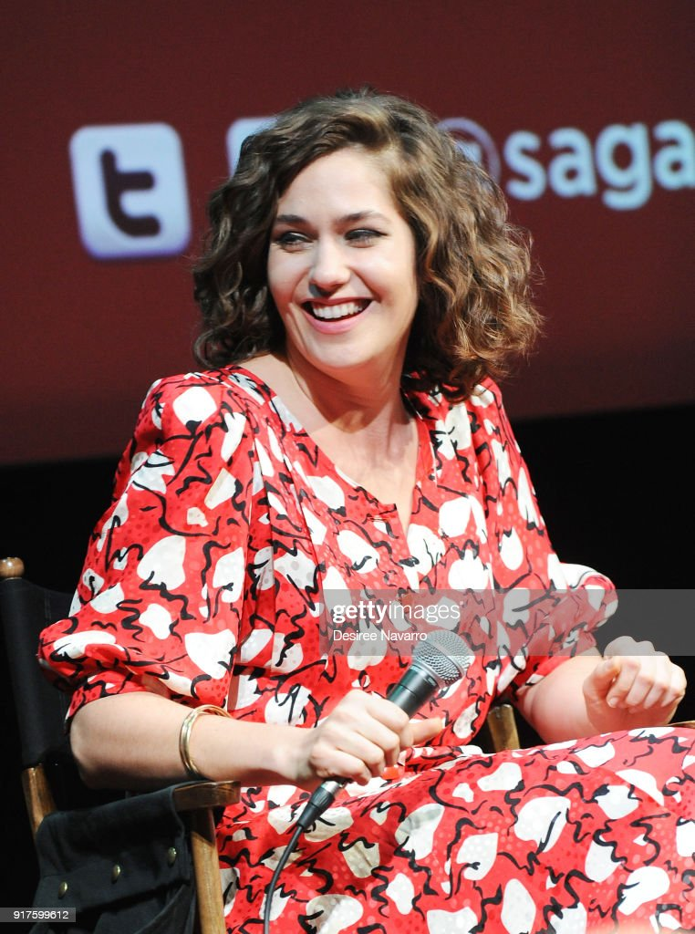 Actress Lola Kirke attends SAG-AFTRA Foundation Conversations: 'Mozart In The Jungle' at The Robin Williams Center on February 12, 2018 in New York City.