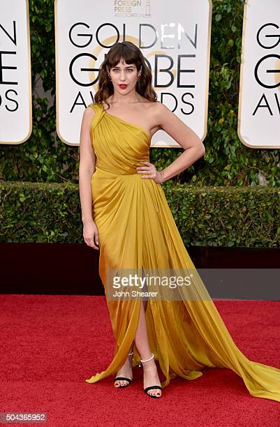 Actress Lola Kirke attends the 73rd Annual Golden Globe Awards held at the Beverly Hilton Hotel on January 10 2016 in Beverly Hills California