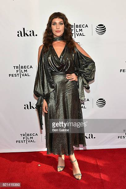 Actress Lola Kirke attends the 'AWOL' Premiere during the 2016 Tribeca Film Festival at SVA Theatre on April 15 2016 in New York City