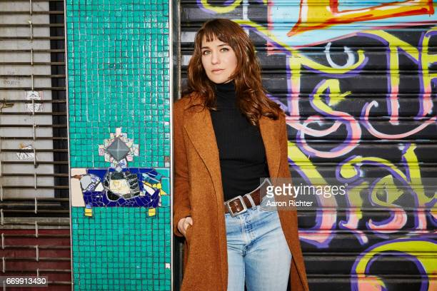 Actress Lola Kirke is photographed for Billboard Magazine on December 28 2016 in New York City