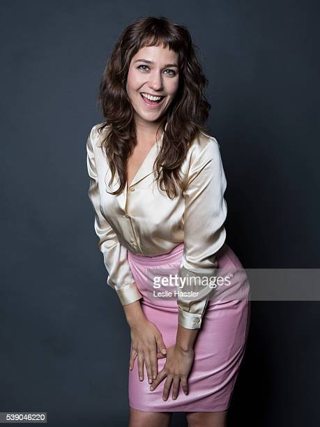 Actress Lola Kirke is photographed for Glamourcom on April 16 2016 in New York City PUBLISHED IMAGE